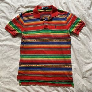 colourful Ralph Lauren men's top